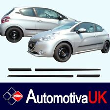 Peugeot 208 3Door Rubbing Strips | Door Protectors | Side Protection Body Kit