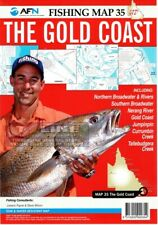The Gold Coast : AFN Fishing Map 35 By Bill Classon Not Supplied By Publishe