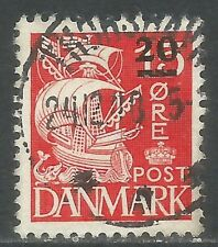 Faroe Is 1940-41 British Occupation 20o on 15o deep red (4) fine used