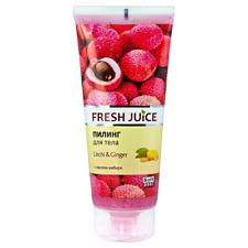"""""""Fresh Juice"""" Körperpeeling Litschi und Ingwer/Пилинг для тела"""