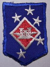 WW2 USMC 1st MAC Aviation Engineers Small Twill Patch - Shirt Size