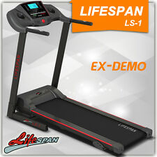 LIFESPAN ELECTRIC GYM TREADMILL QUIET MOTOR DEMO LS-1