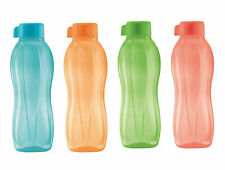 Tupperware H20 on The Go Outdoor Eco Water Drink Bottles 750ml Set of 4
