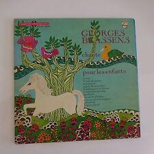 GEORGES BRASSENS chante pour les enfants livre disque vinyle 33 tours