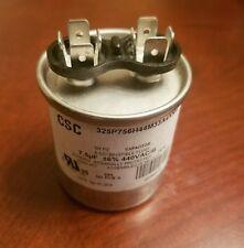 CSC ROUND CAPACITOR 7.5 MF 440 VAC 50/60 HZ