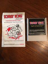 Donkey Kong Atari 2600 Video Game 1982