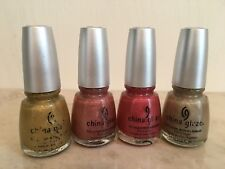 CHINA GLAZE OMG HOLOGRAPHIC LOT (4 Bottles)  READY TO BE SHIP TODAY!!!