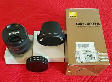 NIKON AF NIKKOR 24-85mm f/2.8-4d IF Macro Len + UV CPL Filters
