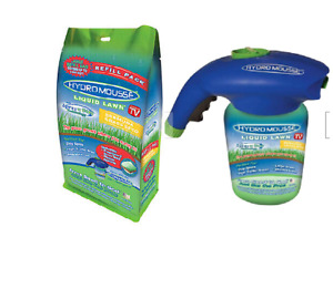 Hydro Mousse Liquid Lawn SYSTEM & a Hydro Mousse Liquid Lawn REFILL Spray Stay