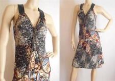 Polyester Animal Print Dry-clean Only Regular Dresses for Women