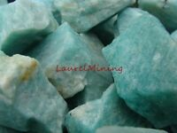 Natural AMAZONITE Rough - 3000 CARAT Lots, Green Variety of Feldspar From Brazil