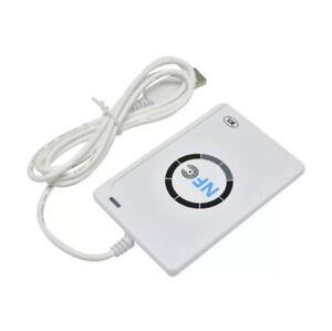 USB ACR122u NFC Reader&Writer 13.56Mhz RFID Copier Duplicator For iPhone/ID