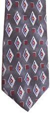 """Pierre Cardin Men's Silk Tie 59"""" X 4"""" Multi-Color Geometric"""