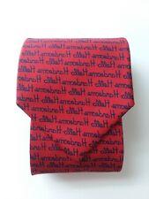 ALYNN Neckwear Red Tie Hello Handsome Reverse Image