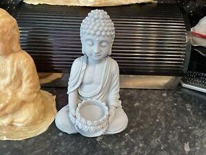 Buddha Goddess Latex Rubber Mould Mold Zen Garden Candle Tealight Holder