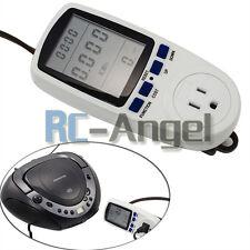 Energy Power Meter Watt Volt Voltage LCD Monitor Electricity Analyzer US Plug