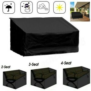 Heavy Duty/Waterproof Outdoor Seater Bench Seat Cover | Patio Loveseat Cover