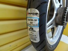 HONDA SUPERDREAM CB400N - COMSTAR REAR WHEEL WITH TYRE AND DRIVE SPROCKET
