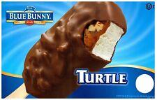 Ice Cream Truck Decal Sticker Blue Bunny Turtle Bar