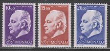 Monaco Sc. C81 - C83 Prince Rainier III 1974 MNH