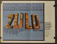 ZULU 1964 ORIGINAL 22X28 MOVIE POSTER STANLEY BAKER JACK HAWKINS