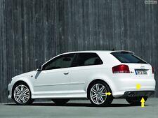 Audi A3 8P Heckschürze S3 Look Heckansatz Spoilerlippe Heckspoileransatz SPOILER