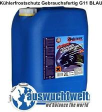 3x 20L Antifreeze Kühlerfrostschutz Gebrauchsfertig -38°C G11 BLAU Kühlerschutz