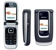 Nokia 6131 Black Flip Phone Big Button Big Screen Cellular phone Unlocked Phone