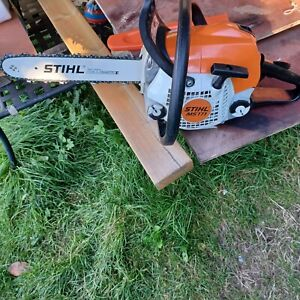 STIHL MS 171 C Petrol Chainsaw pre owned. good working condition.