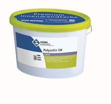 SIGMA Polysatin SM 2 x 12.5L weiss seidenmatte Innenfarbe
