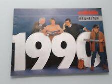 CATALOGUE MARKLIN 1990 - TRAIN ELECTRIQUE HO 1/87