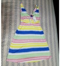 H&M DIVIDED COLORFUL STRIPES SUMMER DRESS