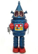 1960s CONEHEAD ROBOT By YONEZAWA Japan SEE VIDEO Rare!