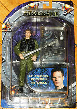 STARGATE SG-1 ATLANTIS UNIVERSE SERIES 3 LT. CAMERON MITCHELL DIAMOND SELECT MOC