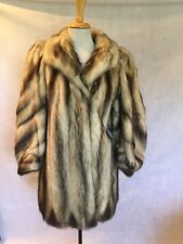 HIGH END FITCH FUR MID-LENGTH COAT SIZE 4 FREE SHIPPING GREAT CONDITION