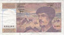 More details for 1997 france 20 francs bank note | pennies2pounds
