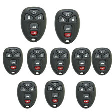10 Pcs Remote Key Case Shell for Gm Chevrolet Malibu Buick Pontiac G5 G6 5BT Fob