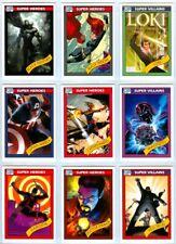 Marvel Fleer Retro 2015: Complete 1990 Impel Marvel Universe Set (18)