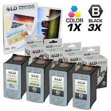 LD © Remanufactured Canon #PG-30 & #CL-31 Combo Set - 3 Black 1 Color