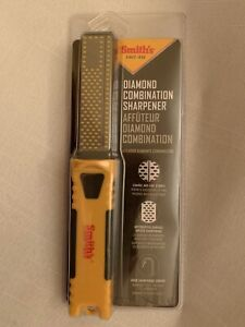 Smith's Diamond Combination Knife & Tool & Hook Sharpener  - Brand New Sealed