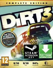DiRT 3 Complete Edition PC Global Steam Key Fast Delivery!