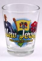 NEW JERSEY GARDEN STATE ELEMENTS SHOT GLASS SHOTGLASS