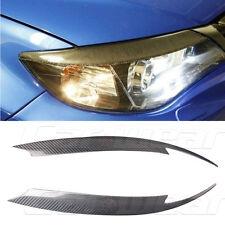 Carbon Fiber Front Headlight Cover Eyelid Eyebrow for Subaru Impreza 10th 08-11