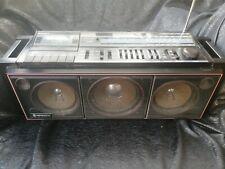 Hitachi Boombox Ghetto Blaster 1980's.Radio and cassette player.