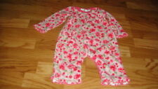 BOUTIQUE BABY LULU 12M 12 MONTHS FLORAL OUTFIT