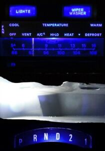 Supplemental LED Dashboard Bulbs Blue For Ford 73 79 F100 F150 F250 F350 Truck