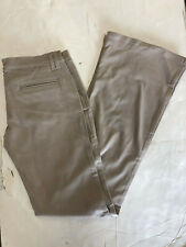 NWT WOMEN'S FRANKIE B Twill Flare-Bell Bottom Khaki slacks/pants SIZE: 4,6,8