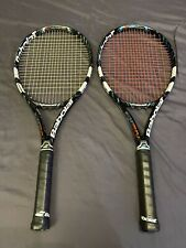 """New listing 2 BABOLAT PURE DRIVE GT 300G 10.6 OZ 100 SQ IN 4 3/8"""" GRIP L3 RACQUETS 2013"""