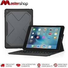 ZAGG Rugged Messenger Keyboard & Case for iPad 5th & 6th 9.7  - Black