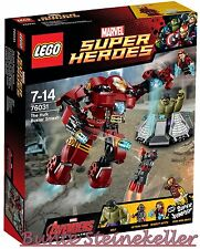 LEGO® Super Heroes: 76031 Hulkbuster Rettungsmission & 0.-€ Versand & OVP & NEU
